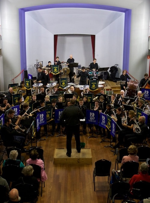Concert with Burnside Youth Concert Band
