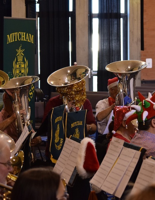 Mitcham City Brass in Cabaret