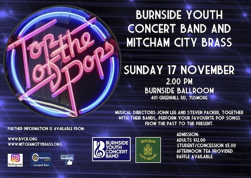Top of the Pops - with Burnside Youth CB