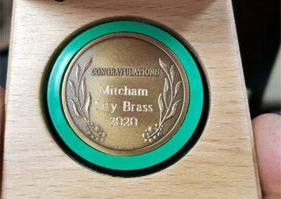 Australia Day Award 2020 medal