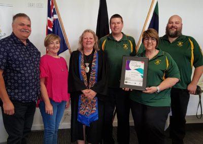Australia Day Awards 2020 group