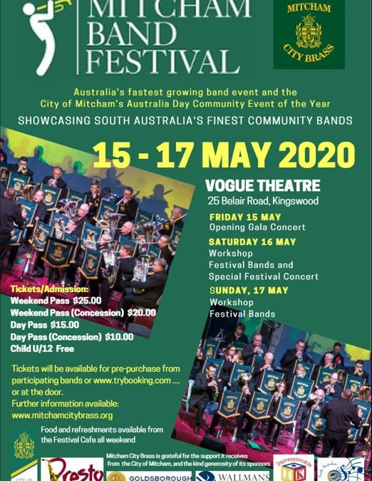 Mitcham Band Festival – Cancelled