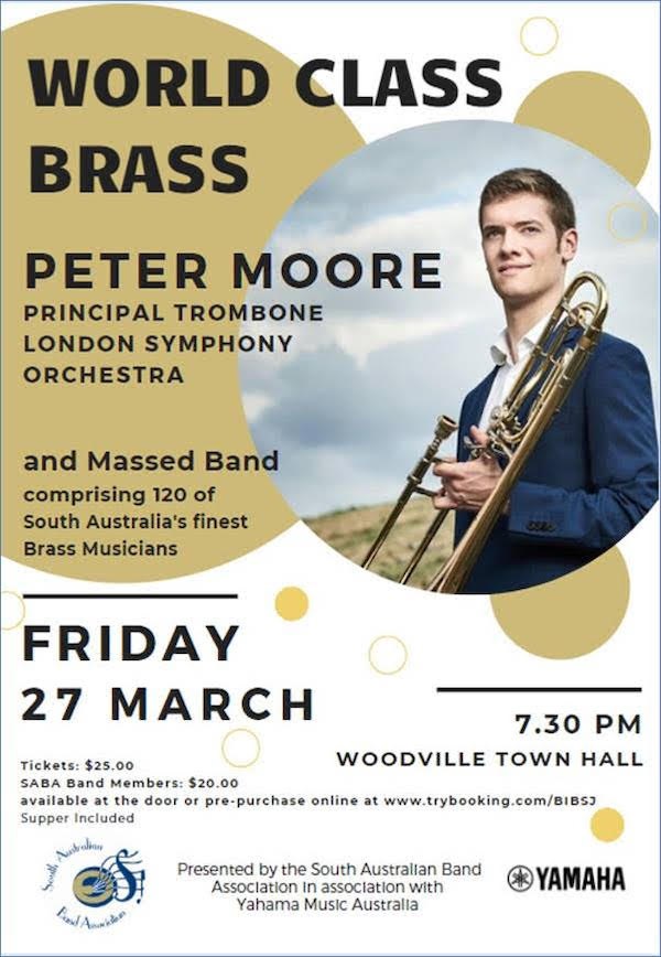 """""""World Class Brass"""" with Peter Moore"""