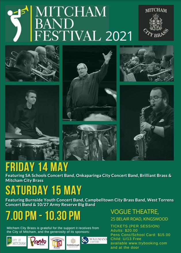 Mitcham Band Festival 2021